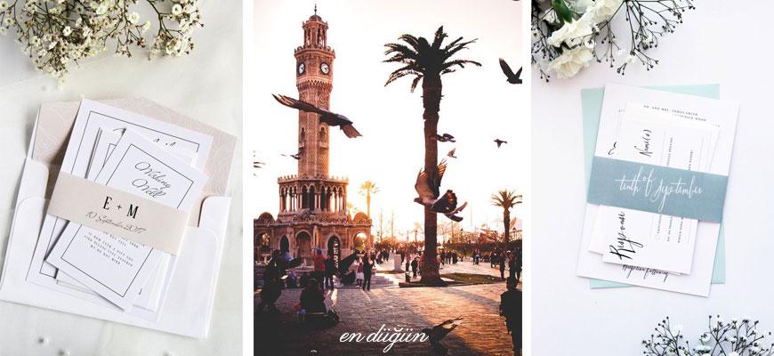İzmir Düğün Davetiyesi