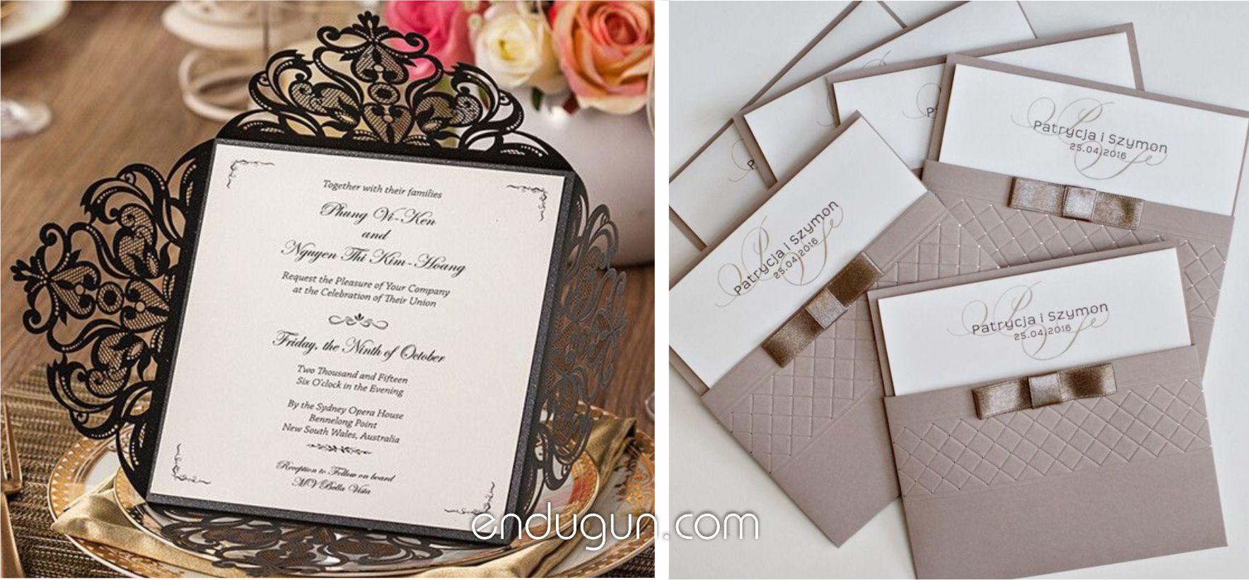 2018 Lüks Düğün Davetiye